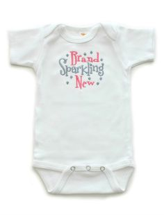 Brand Sparkling New Baby Girls Onesie Sayings Boutique Baby Clothes | All That Sass Boutique
