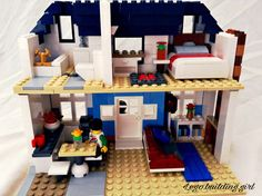 Lego house interior