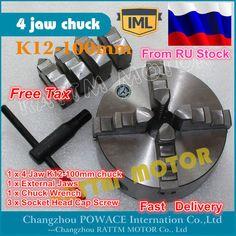 SANOU K12 80 четыре челюсти Самоцентрирующийся Зажимной патрон-in Зажим from Инструменты on AliExpress Jaws 1, Changzhou