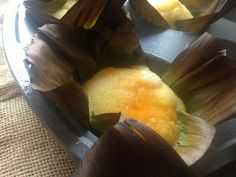 Bibingka: Mini Filipino Rice Cakes in Banana Leaves on http://asianinamericamag.com