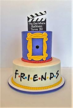 Teen Birthday Gifts – Gift Ideas Anywhere Friends Birthday Cake, Friends Cake, 30 Birthday Cake, 14th Birthday, 30th Birthday Parties, Friends Tv, Birthday Gifts, Birthday Cakes For Teens, Funny Friends