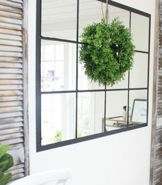 A great article with ideas for using IKEA LOTS adhesive mirrors