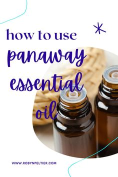Need tips for using panaway? This post is super helpful. She goes through all the oils that make up the blend and gives you a bunch of helpful ways to use it. Panaway Essential Oil, Natural Essential Oils, Young Living Essential Oils, Essential Oil Blends, Natural Oils, Food Facts, Nutrition Information, Starter Kit, Just In Case