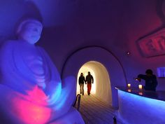 White Lounge Ice Bar in Mayhofen, Austria — one of our favorite places to enjoy apres ski