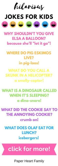 hilarious jokes for kids #ParentingTips