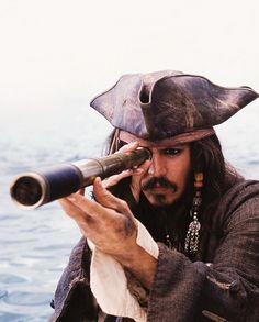 Johnny Depp as Captain Jack