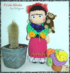 ♥ Frida ♥ Amigurumis ♥ Original by Chibigumis♥