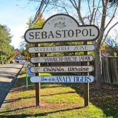 Welcome to Sebastopol, California