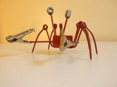 Crab Metal Sculpture