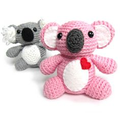 Adorable Koala crochet amigurumi by FreshStitches freshstitches.com/koala/