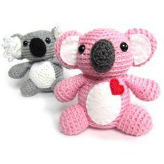Adorable Koala crochet amigurumi by FreshStitches freshstitches.com/koala/