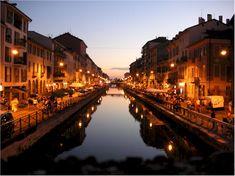 Milan's naviglio