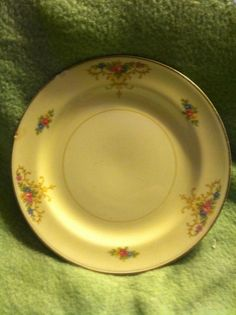 1 Vintage Homer Laughlin Eggshell Nautilus Salad~sandwich Plate USA