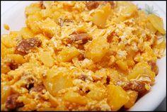 Platos Latinos, Blog de Recetas, Receta de Cocina Tipica, Comida Tipica, Postres Latinos: Papas con Huevo - Recetas Mexicanas