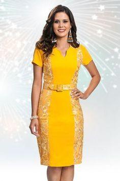 Vestido Sun- Bella Herança - Moda Evangélica e Roupa Evangélica: Bela Loba