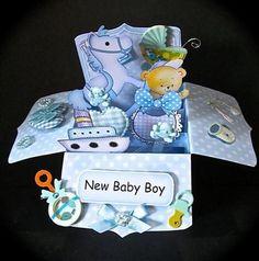 3D Handmade Box Cards (5)