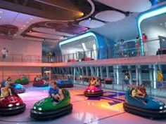 The Quantum has Bumper Cars - yes, BUMPER CARS!  How great is that???