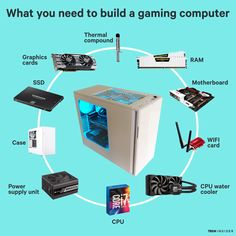 Building your own gaming PC is easy, and not scary at all! Plus you'll end up saving more money than if you bought it from someone else.