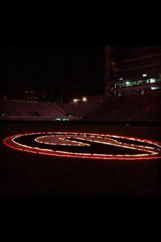 Merry Christmas from Sanford Stadium.