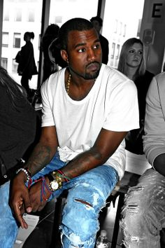 Kanye West in a modern world - ordinary person.