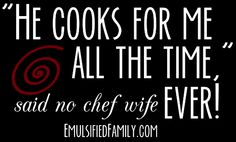 Delicious Reasons To Date A Chef!