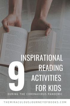 We have nine great activities for kids to do while we're all staying at home. Learn to write with Kate DiCamillo, or draw with Mo Willems. Show them how to explore the world through books in Reading Comprehension Strategies, Reading Fluency, Reading Resources, Reading Activities, Reading Skills, Teaching Reading, Teaching Kids, Activities For Kids, Inspirational Readings