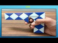 Rubik's Twist Or Snake Puzzle Tutorial - GUN by Dev Prajapati - YouTube