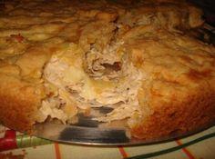 Torta de Frango e Requeijão com Massa Podre
