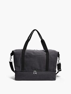 The Catalina Deluxe Small - Small Canvas Weekender - Designed by Lo & Sons #loandsons