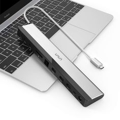 Amazon.com: VAVA USB C Docking Station with 36W Adapter, 100W PD, Ethernet Port, SD Card Slot, 2 x USB 3.1, 2 x USB 2.0, 1 x QC 3.0 Ports, 1xPD 3.0 Port, 1x DC in Port for MacBook Pro and Type C Windows Laptop: Gateway Usb Dock, Carte Sd, Docking Station, Apple Products, Portable, Sd Card, Macbook Pro, Computer Accessories, Windows