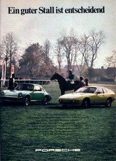 Porsche 924: Ein guter Stall ist entscheidend