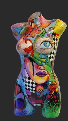 Billedresultat for painted mannequin art