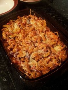 Slimming world Chicken & Bacon Pasta Bake More