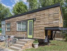 Mom builds serene and airy tiny home for her family of four and their Great Dane   Inhabitots