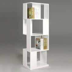 Chintaly Imports SELINA-BKS Sofia Open Side Modern Bookcase