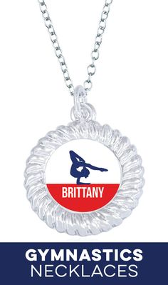 Our personalized gymnastics necklaces make great gifts for the whole team! Gymnastics Coaching, Gymnastics Gifts, Gymnastics Outfits, Amazing Gymnastics, High Quality T Shirts, Washer Necklace, Great Gifts, Necklaces, Diamond