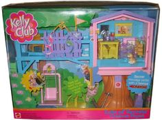 Barbie KELLY LOTS OF SECRETS CLUBHOUSE Playset CLUB HOUSE w MESSAGE CENTER   #barbiecollector