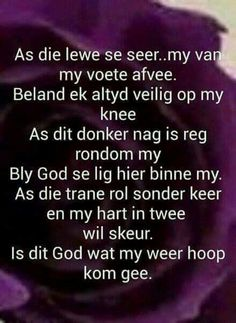God se lig binne my Bible Quotes, Bible Verses, Qoutes, Baby Boy Knitting Patterns, Afrikaanse Quotes, Special Words, Spiritual Inspiration, Inspirational Thoughts, Grief