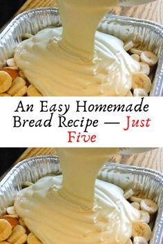 An Easy Homemade Bread Recipe — Just Five #An #Easy #Homemade #Bread #Recipe — #Just #Five