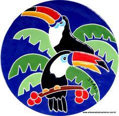 Brindes Artesanais - Aves Brasileiras