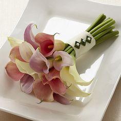 Le bouquet promesse du lys de Calla FTD