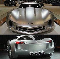 corvette new concept