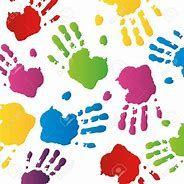 Image result for kids handprint art