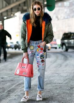 The best street style from New York Fashion Week Fall 2015 - Elle Canada