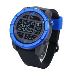 92.39$ Watch here - Hot sale! New 2016 Bluetooth Smart Watch 100M Waterproof SOS Electronic Wearable Devices Sport Watches BT 4.0 Android IOS For Sm