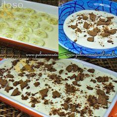 Quer uma sugestão de sobremesa perfeita, deliciosa e super fácil? A proposta é o Pavê de Banana com Creme de Limão! #Receita aqui: http://www.gulosoesaudavel.com.br/2013/02/08/pave-banana-creme-limao/