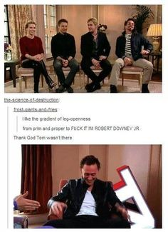 "The reason there is a website titled ""Tom sits like a whore."""