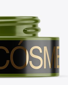 50ml Matte Plastic Cosmetic Jar Mockup