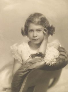 Princess Elizabeth, (the future Queen Elizabeth II) 1 November 1934