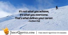 """""""It's not what you achieve, it's what you overcome. That's what defines your career. Career Quotes, Daily Quotes, Best Quotes, Never Too Late Quotes, Imagination Quotes, Jokes Quotes, Be Yourself Quotes, Picture Quotes, Perspective"""